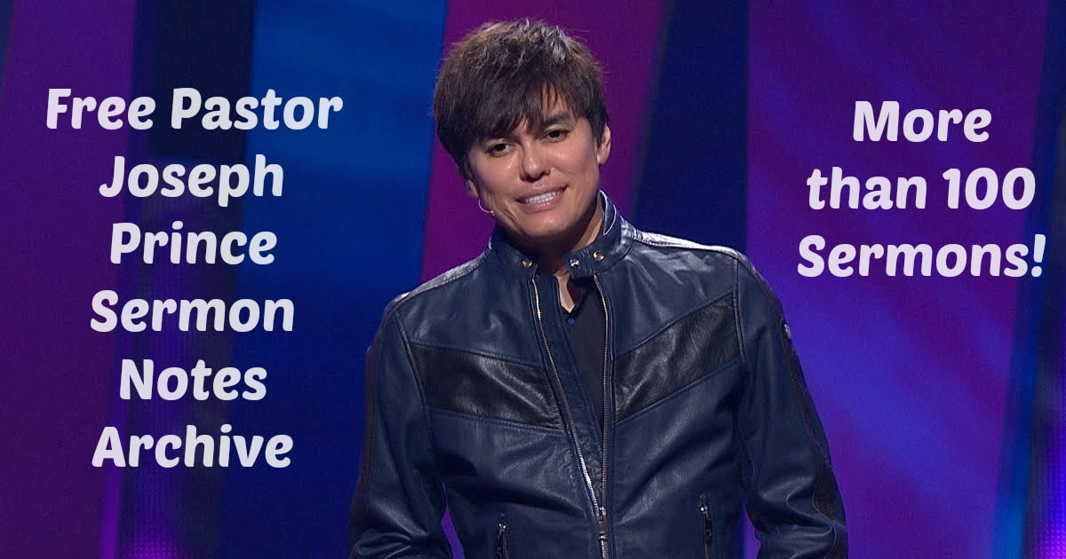 Free pastor joseph prince sermon notes archive find the message over the years i have compiled many of pastor joseph princes sermons into sermon notes while fandeluxe Images