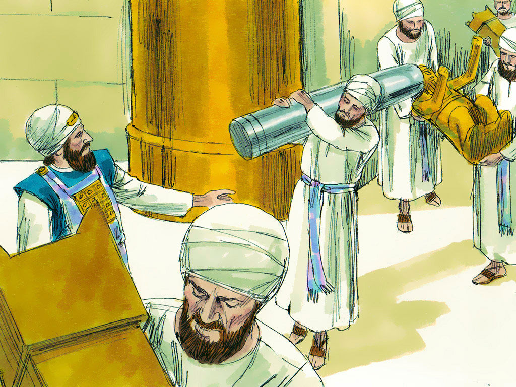 One of the first things King Hezekiah did when he became king was that he opened the doors of the temple. Only when the doors are opened then can you get rid of the filth inside. Today the temple is our body and the door of the temple is our mouth. We can open the door and get rid of the filth within us by praying in tongues.