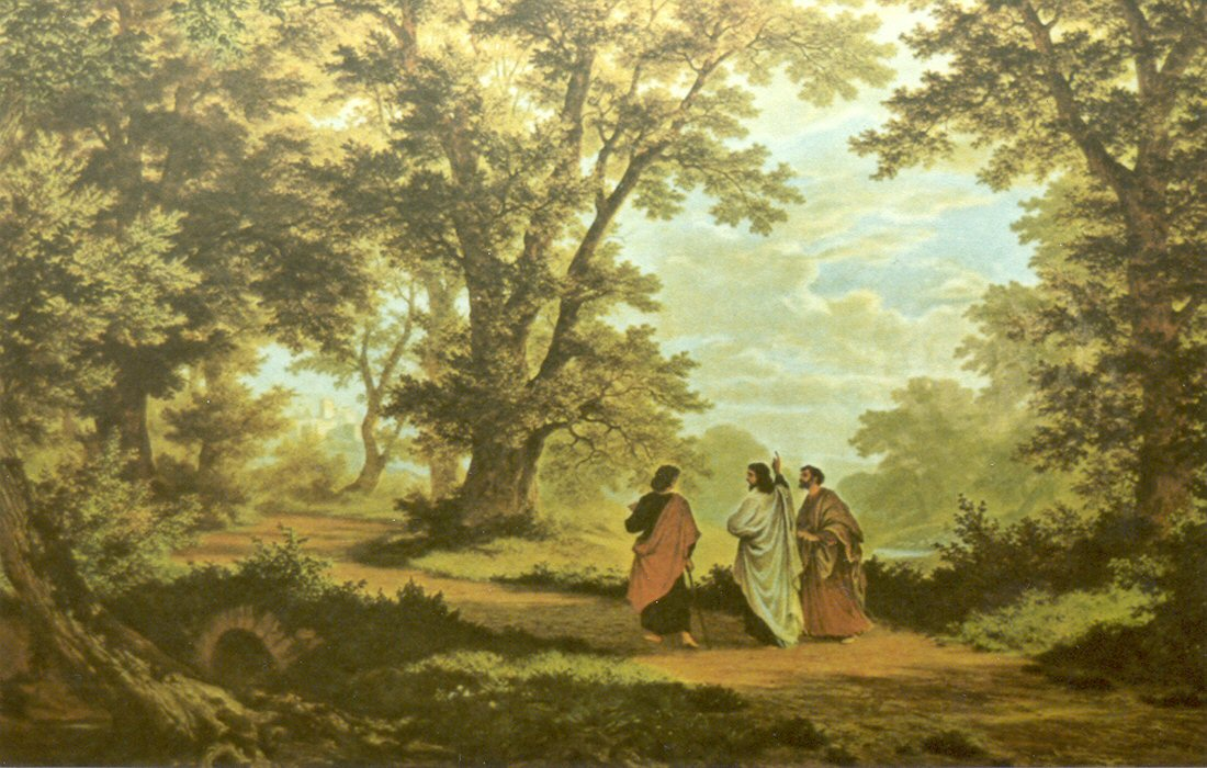 Why did Jesus restrain the eyes of the two disciples on the Road to Emmaus? Jesus wanted them to see Him in the Scriptures. You can be brought out of discouragement, despair, and depression by being Christ-occupied and not self-occupied.