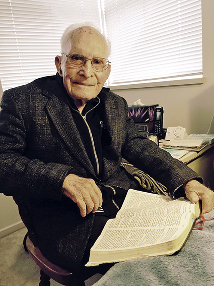God's word has prospering, recuperative power. Many centenarians read the Bible every day.