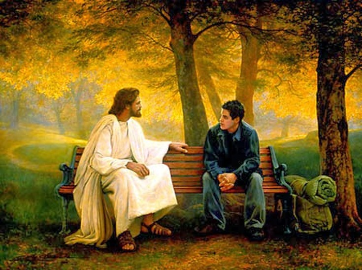 jesus and the social status of The samaritan woman at the well is parched by sin and suffering and that jesus comes to save the sick and to serve those low social status in the.