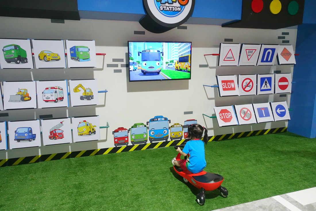 Learn about the different kinds of vehicles as well as the meaning of the road signs in Singapore. Good road safety education for kids!