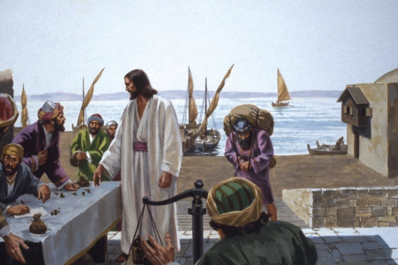 Jesus is not an emaciated and frail Man as depicted in some paintings. There is something magnetic about Jesus that caused people to follow Him with just two words.