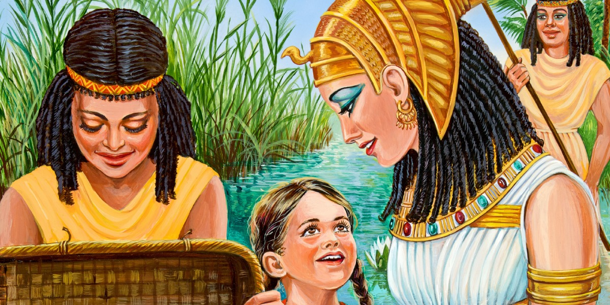 Miriam was Moses' elder sister. She was running by the riverside to make sure that Moses was safe. Miriam told the Egyptian princess about her mum who can nurse Moses for her. Miriam was worried and looking out for Moses' well-being. Elder sisters must learn how to let go when God comes into their lives.