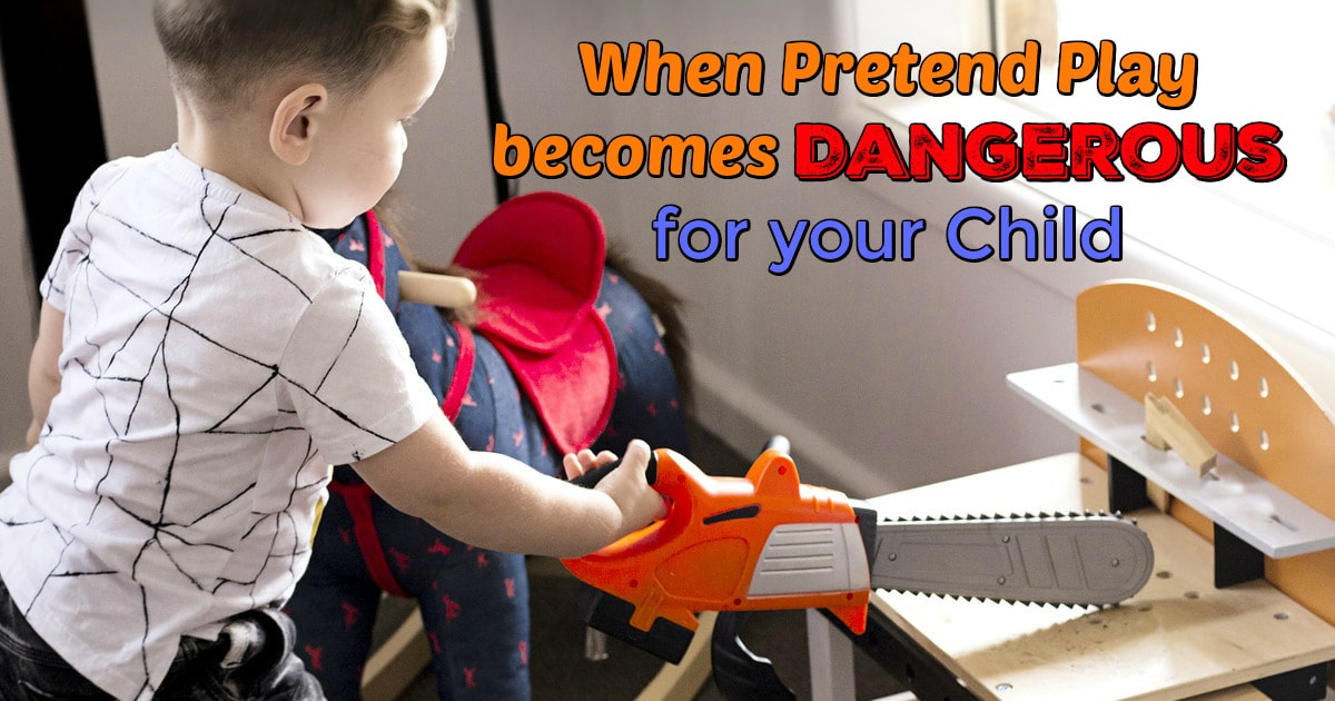 When Pretend Play becomes Dangerous for your Child - A Christian Parenting Devotional