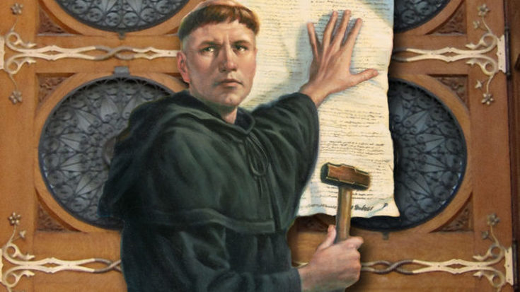 Martin Luther nailed the 95 Theses on the door of the church. In 1517, the Reformation started by his books circulated in print, not by him running around ragged. Now our equivalent of nailing an argument on the church door is posting on social media. We should use social media for the glory of Jesus, and not just sit back and let the devil do his thing.