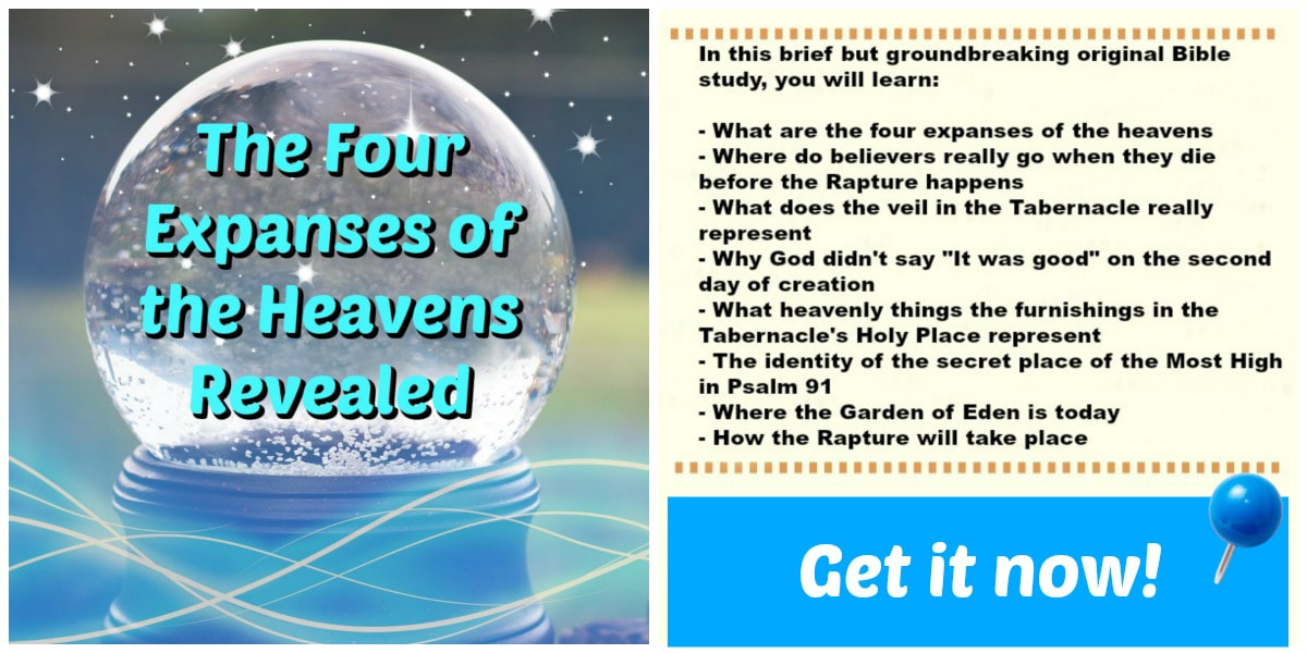 The Four Expanses of the Heavens Revealed by Milton Goh