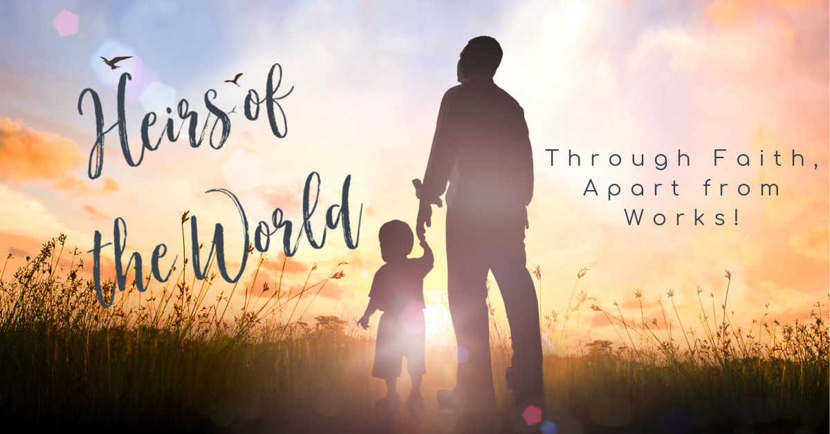 Pastor Joseph Prince taught us how to walk in the blessings of being heirs of the world through faith, apart from the works of the Law. It is time to live with a spirit of sonship instead of a fearful, servile mentality of a slave!