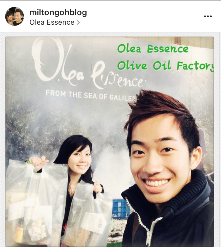 This is a photo of us at the Olea Essence Visitor Center. We love Olea Essence products, and we know that you will too!