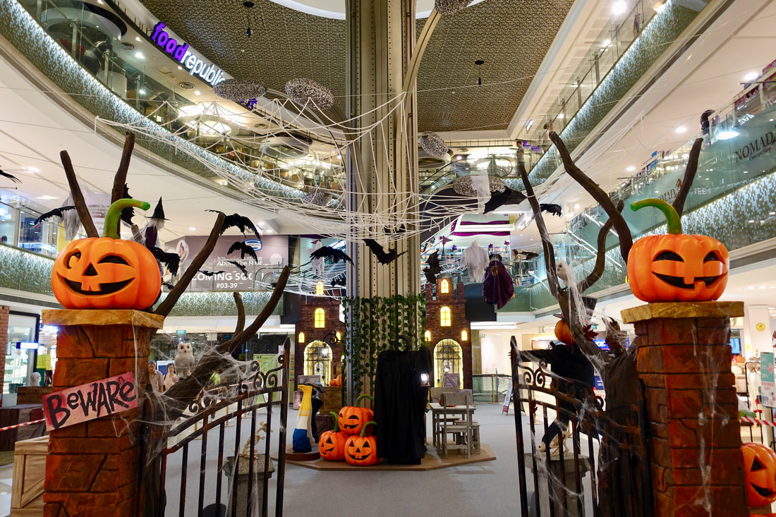 Howl-O-Ween 2017 at i12 Katong Mall in Singapore - Our Fun Trick-Or-Treat Adventure