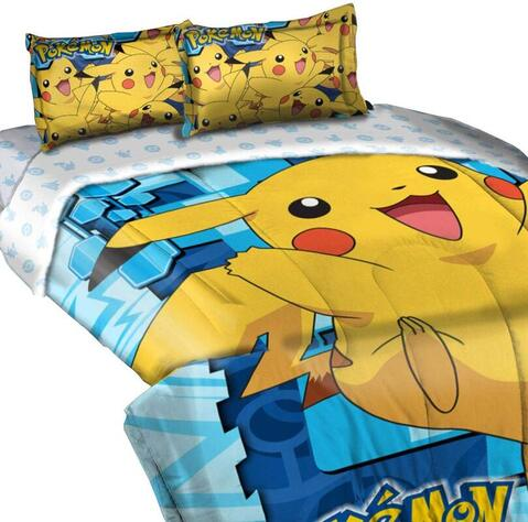 Click to get this Big Pika comforter and pillowcases set.