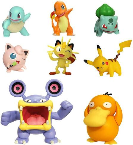 Click to get this starter Pokemon assorted figurines set.