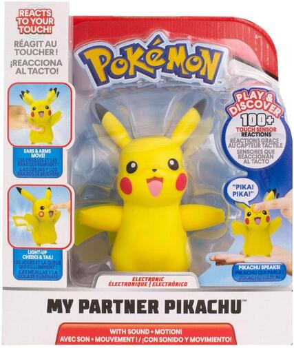 Click to get the interactive My Partner Pikachu toy.