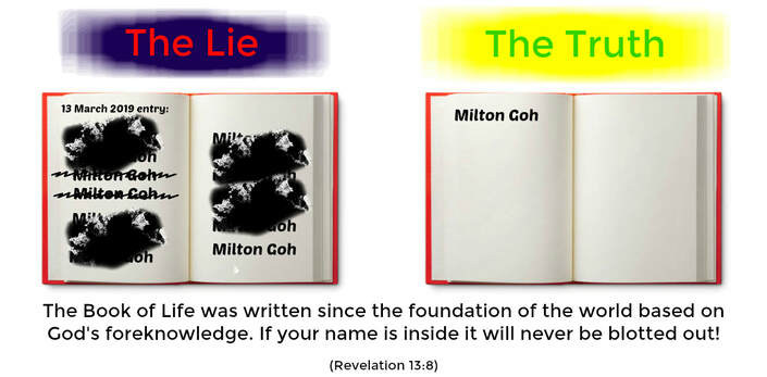 The Book of Life and the Books of Remembrance are two types of books which are written at different points in time.