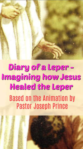 Pinterest Pinnable Image. Pin this to share with your family and friends about the great love and grace of our Lord Jesus as seen through the Healing of the Leper in Matthew 8. I pray that this post will inspire and touch many lives!