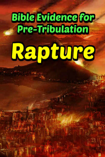 Pinterest Pinnable Image: The Rapture will happen before the Great Tribulation. Rejoice because you and I who believe in Jesus will not be going through the Tribulation! ​​Here's the Biblical evidence to prove it.