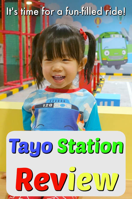 Pinterest Pinnable Image. Tayo Station is a new indoor playground for children in Singapore based on the popular kids animation called