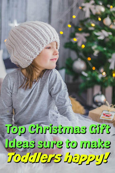 Pinterest Pinnable Image: Top Christmas Gifts for Toddlers That You Can Also Order Online!