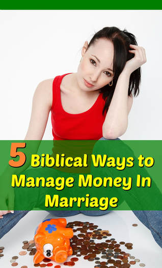 Pinterest Pinnable Image. God wants to be Lord in all areas of our lives, including how we manage money in marriage. Jesus can help you build a strong financial management culture at home. Let Him take over and you will live a happier life with Him in control!